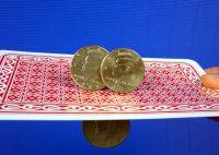 Flippermünze Halbdollar incl. Zweitmünze