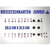 Riesenkarten 'Jumbo'