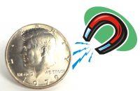 Magnetmünze Halbdollar