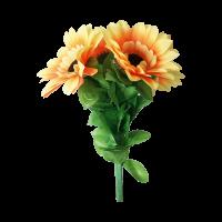 Verbeugendes Blumenbukett