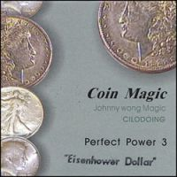 Coin Magic Perfect Power 3 Dollar incl. DVD