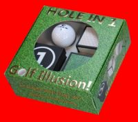 Golf Ball Illusion