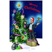 Weihnachtskarte - 1 Stück