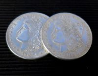 Morgan Dollar - Replica - Shell