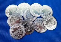 Morgan Dollar - Replica - Manipulationsmünzen 10 Stück