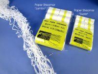 Paper Streamer Jumbo XXL - weiß, 10er Pack