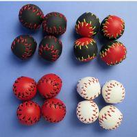 Becherspiel Bälle Baseball Leder - 4 Stück - 23 mm