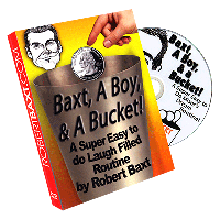 DVD Baxt, a Boy & a Bucket -by Robert Baxt
