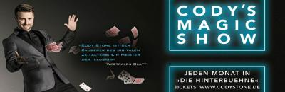 Cody´s Magic Show      Hinterbühne Hannover