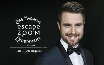 Cody Stone  -    Das magische Escape Zoom Experiment